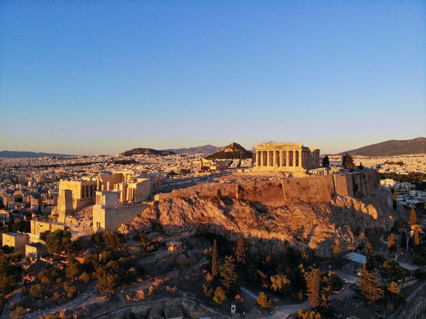 The acropolis in Greece_best corporate retreat destinations_flok